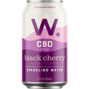 Weller CBD Black Cherry Sparkling Water