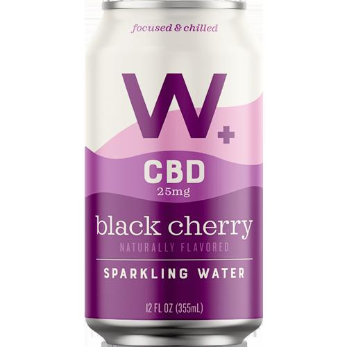 Weller CBD Black Cherry Sparkling Water