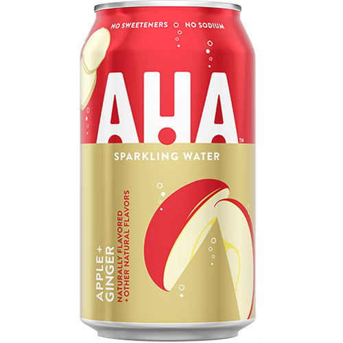 AHA Apple + Ginger Sparkling Water