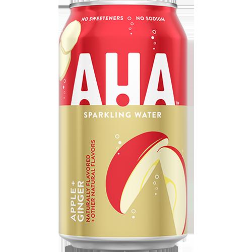 AHA Apple + Ginger Sparkling Water