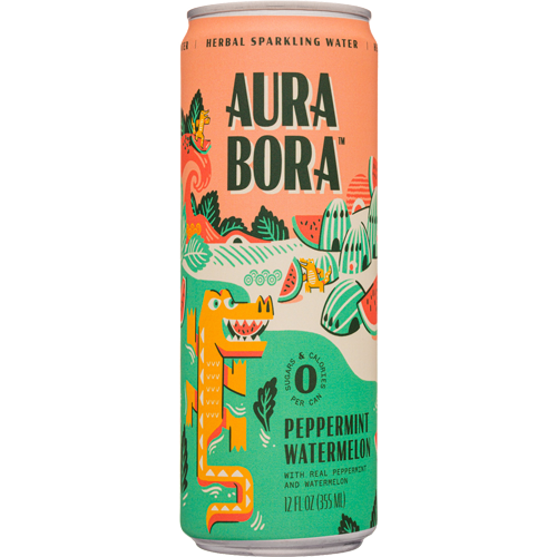 Aura Bora Peppermint Watermelon