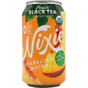 Nixie Peach Black Tea Sparkling Water