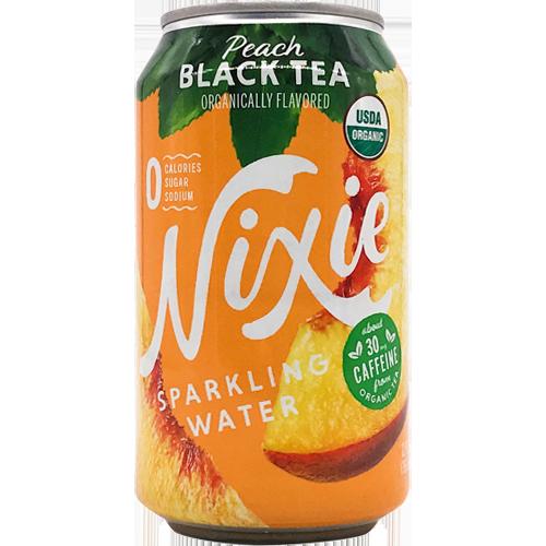 Nixie Peach Black Tea Sparkling Water