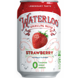 Waterloo Strawberry Sparkling Water