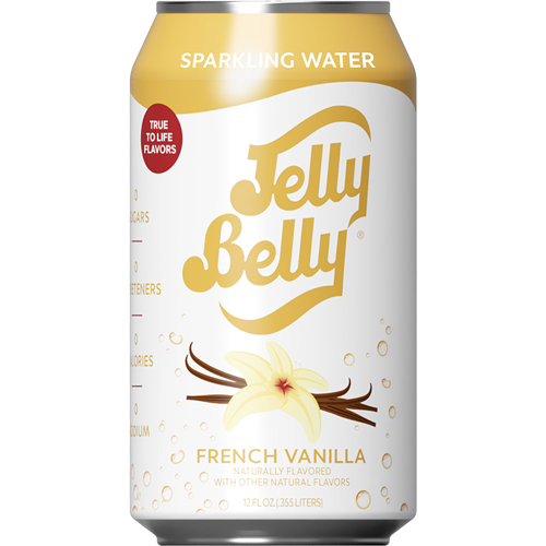 Jelly Belly French Vanilla Sparkling Water